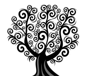 4200166-vector-illustration-of-a-curl-tree-isolated-on-white-background
